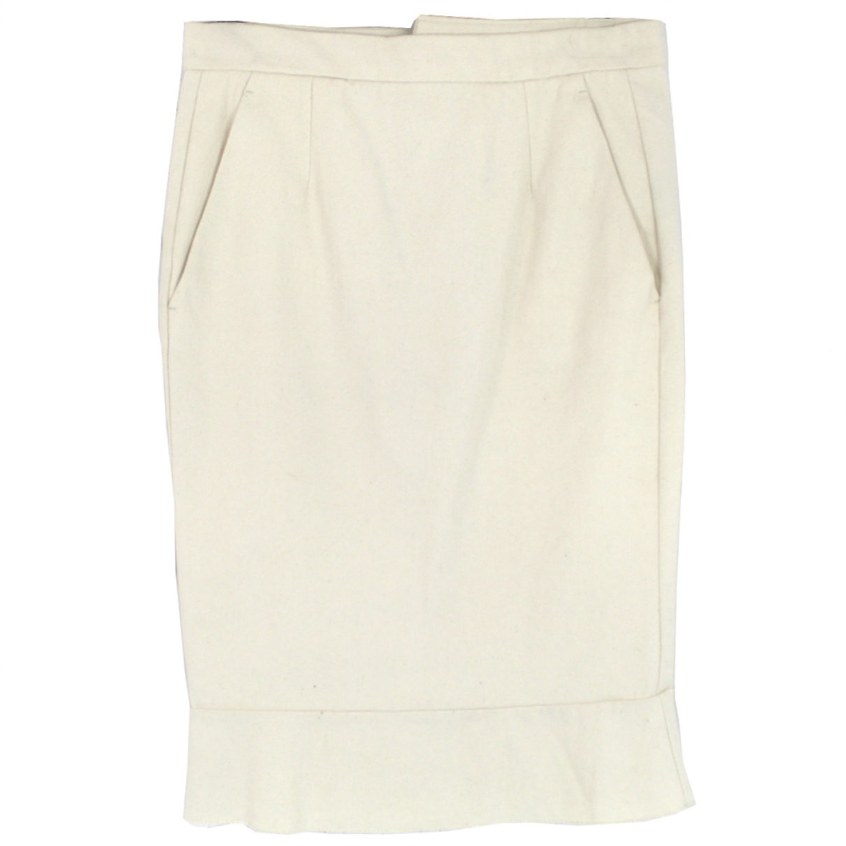 Isabel Marant \N Ecru Cotton skirt for Women 38 FR