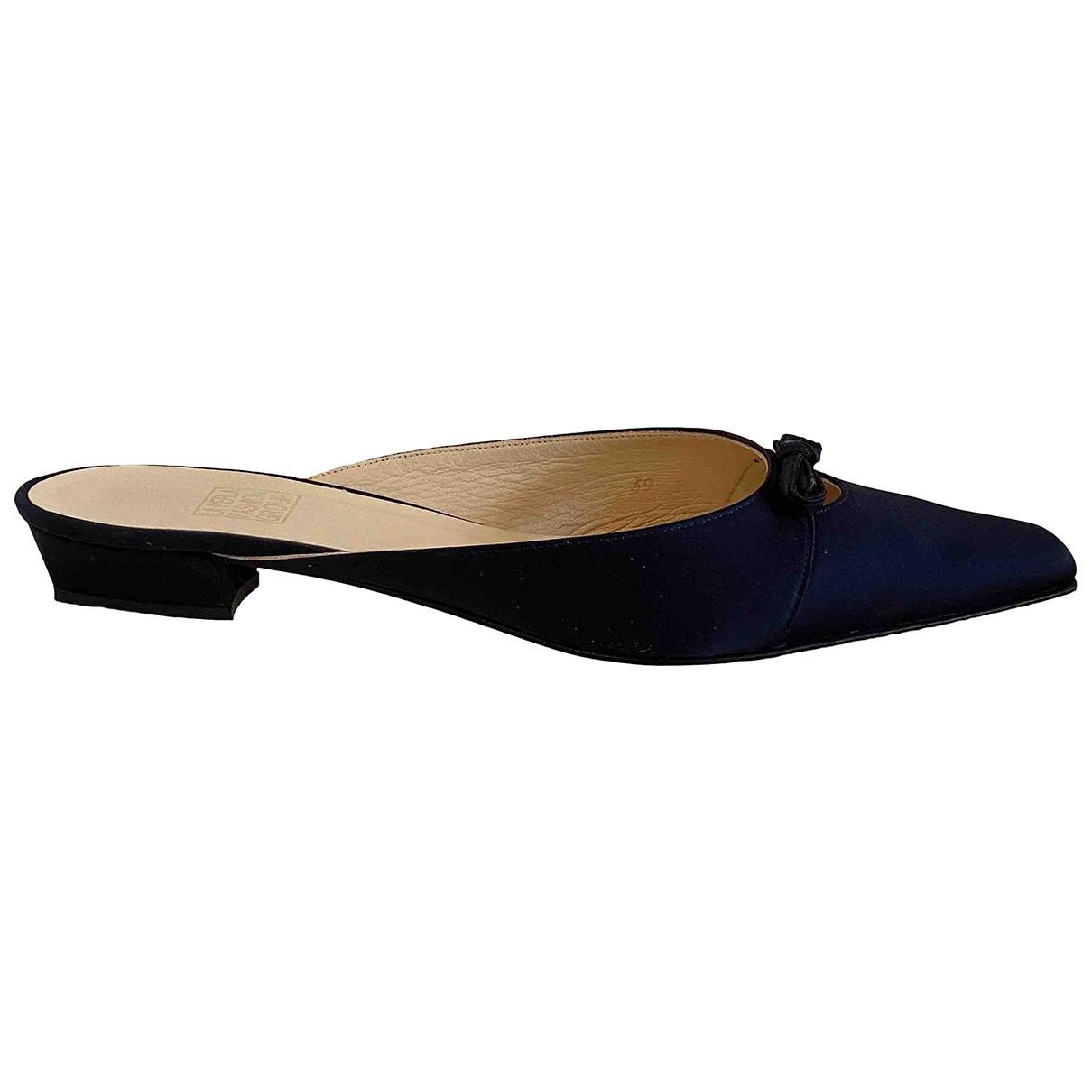 La Perla \N Blue Cloth Sandals for Women 39 IT