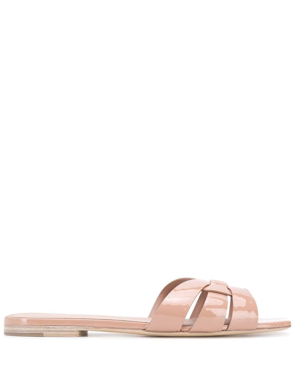 Nu Pieds Patent Leather Sandals