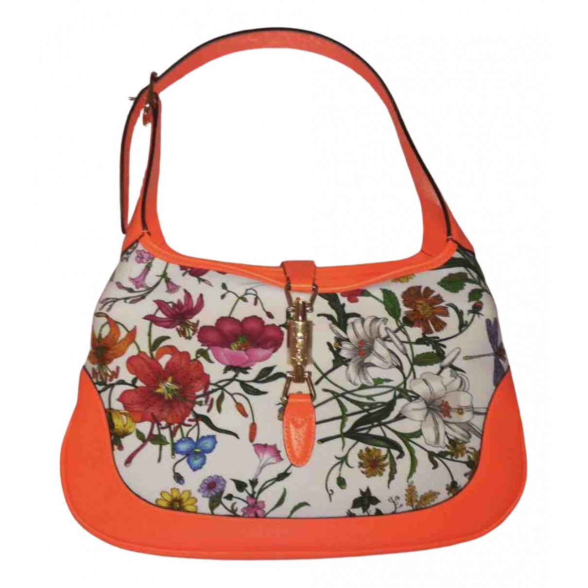 Gucci Jackie Orange Cloth handbag for Women N