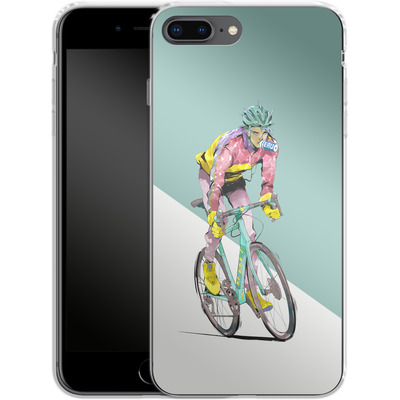 Apple iPhone 8 Plus Silikon Handyhuelle - Bikero von Boell Oyino
