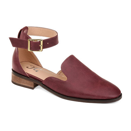 Journee Collection Womens Loreta Loafers, 7 Medium, Red