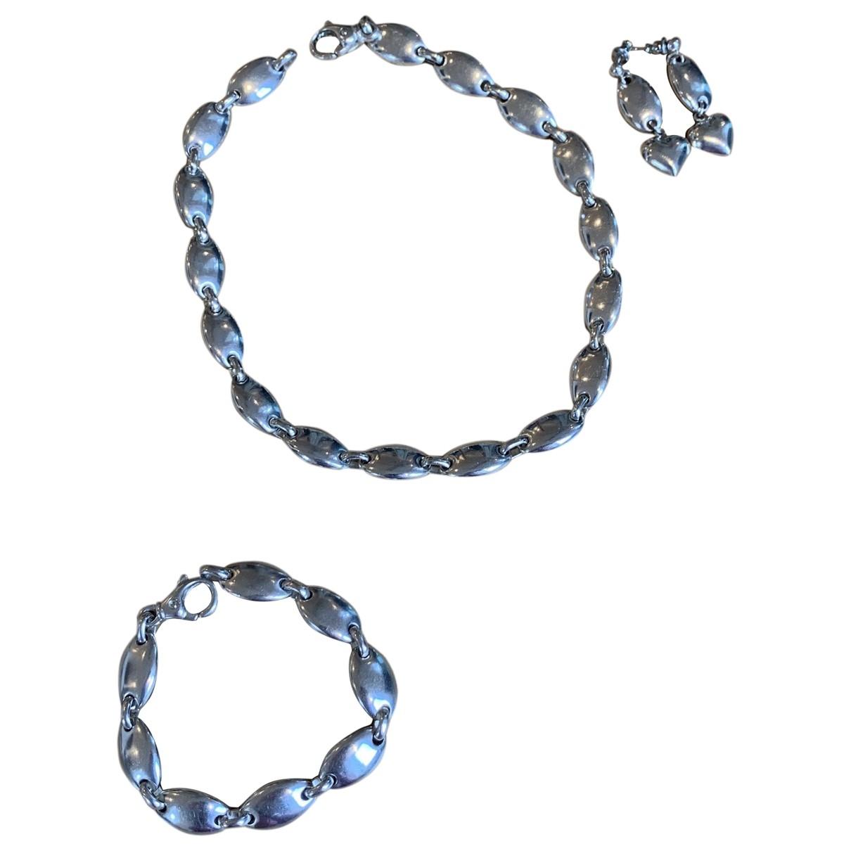 Tiffany & Co City HardWear Schmuck-set in  Silber Silber