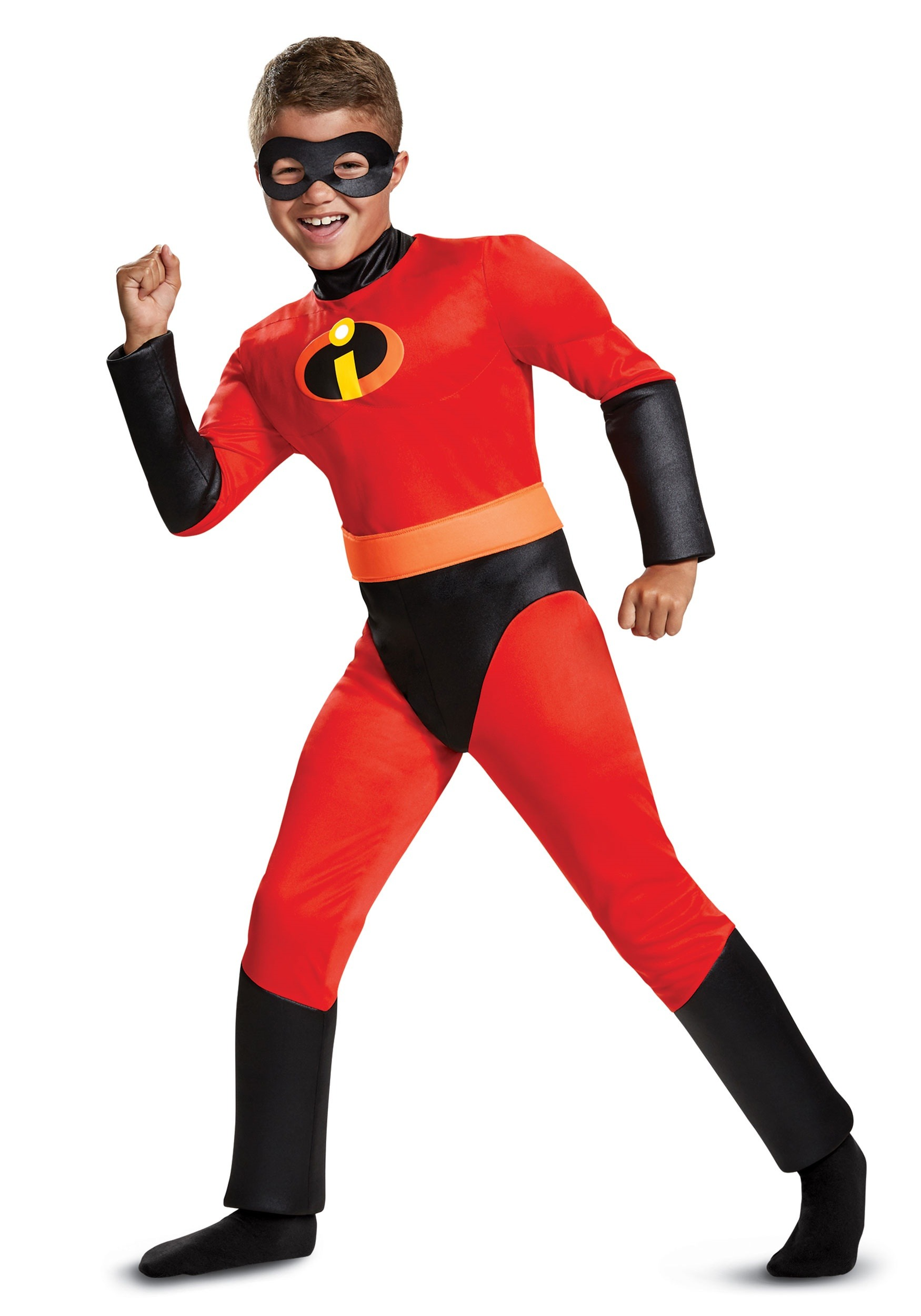 Disney Incredibles 2 Classic Dash Muscle Costume for Boys