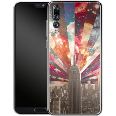 Huawei P20 Pro Silikon Handyhuelle - Superstar New York von Bianca Green