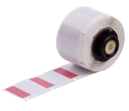 Brady Self-Laminating Cable Label Refill Self Laminating Label, For Use With BMP61, BMP71, TLS2200, TLSPC LINK
