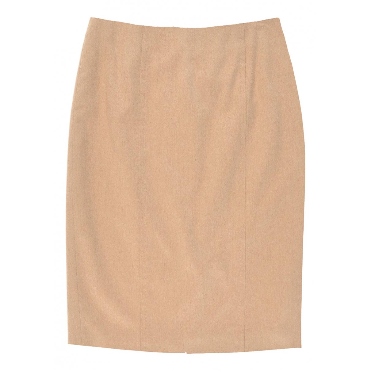 Max Mara \N Camel Wool skirt for Women 40 IT