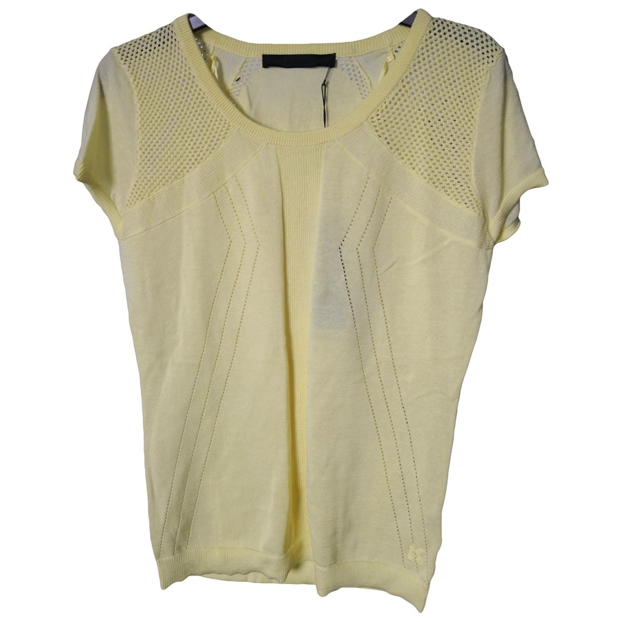 Karl \N Pullover in  Gelb Baumwolle
