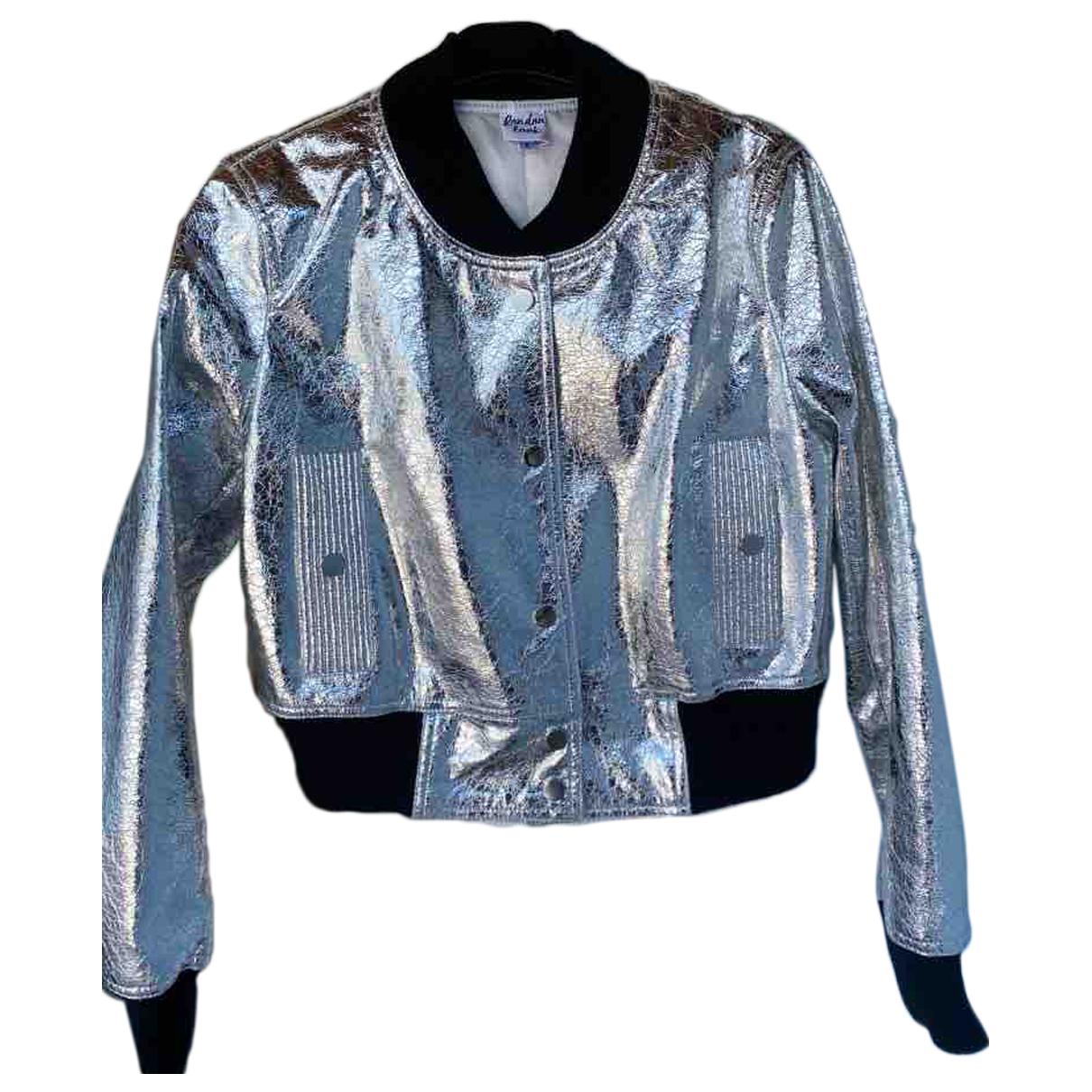 - Veste   pour femme - metallise