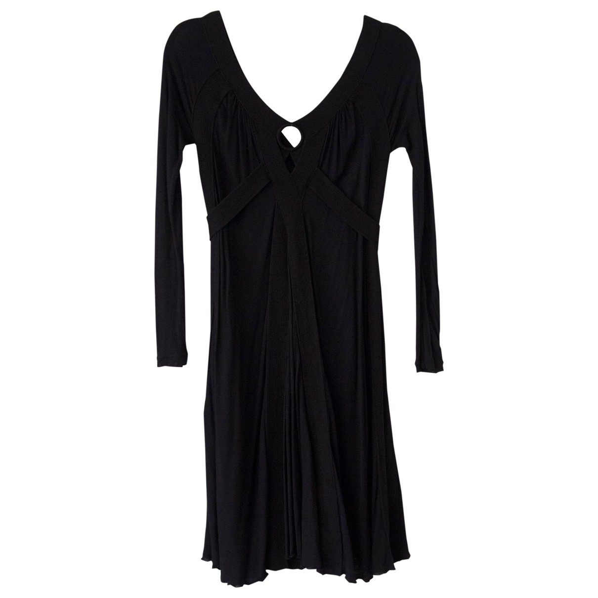 Jean Paul Gaultier \N Black Cashmere dress for Women S International
