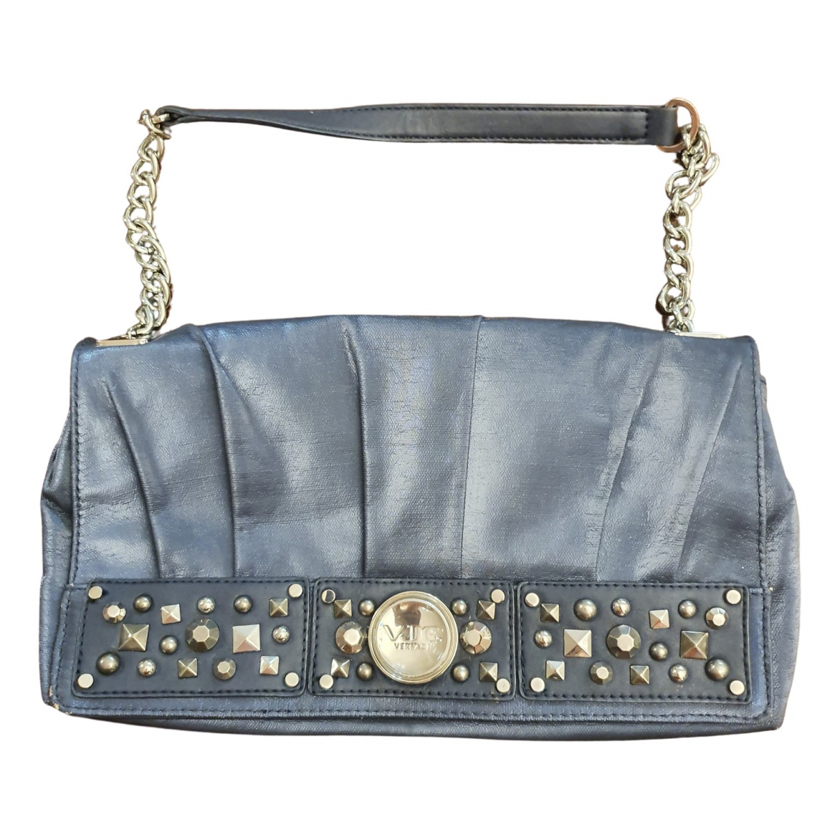 Versace Jeans \N Blue Velvet Clutch bag for Women \N