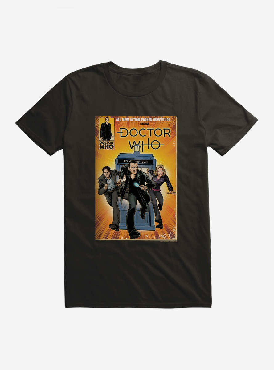Doctor Who Action Packed Adventure Comic T-Shirt