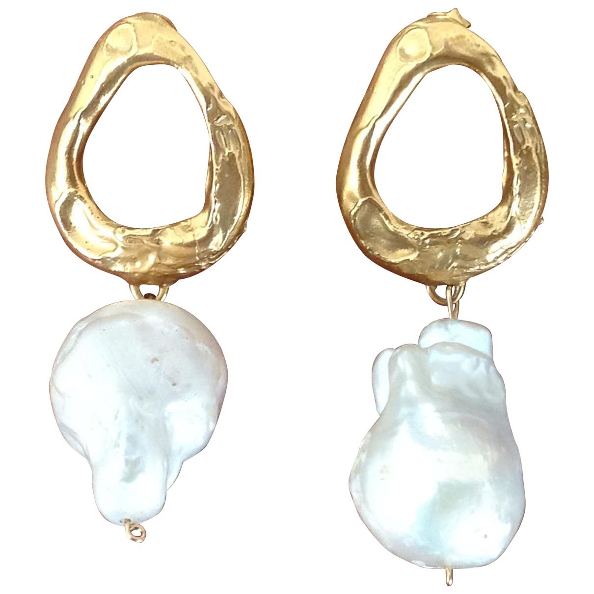 Alighieri - Boucles doreilles   pour femme en plaque or - dore