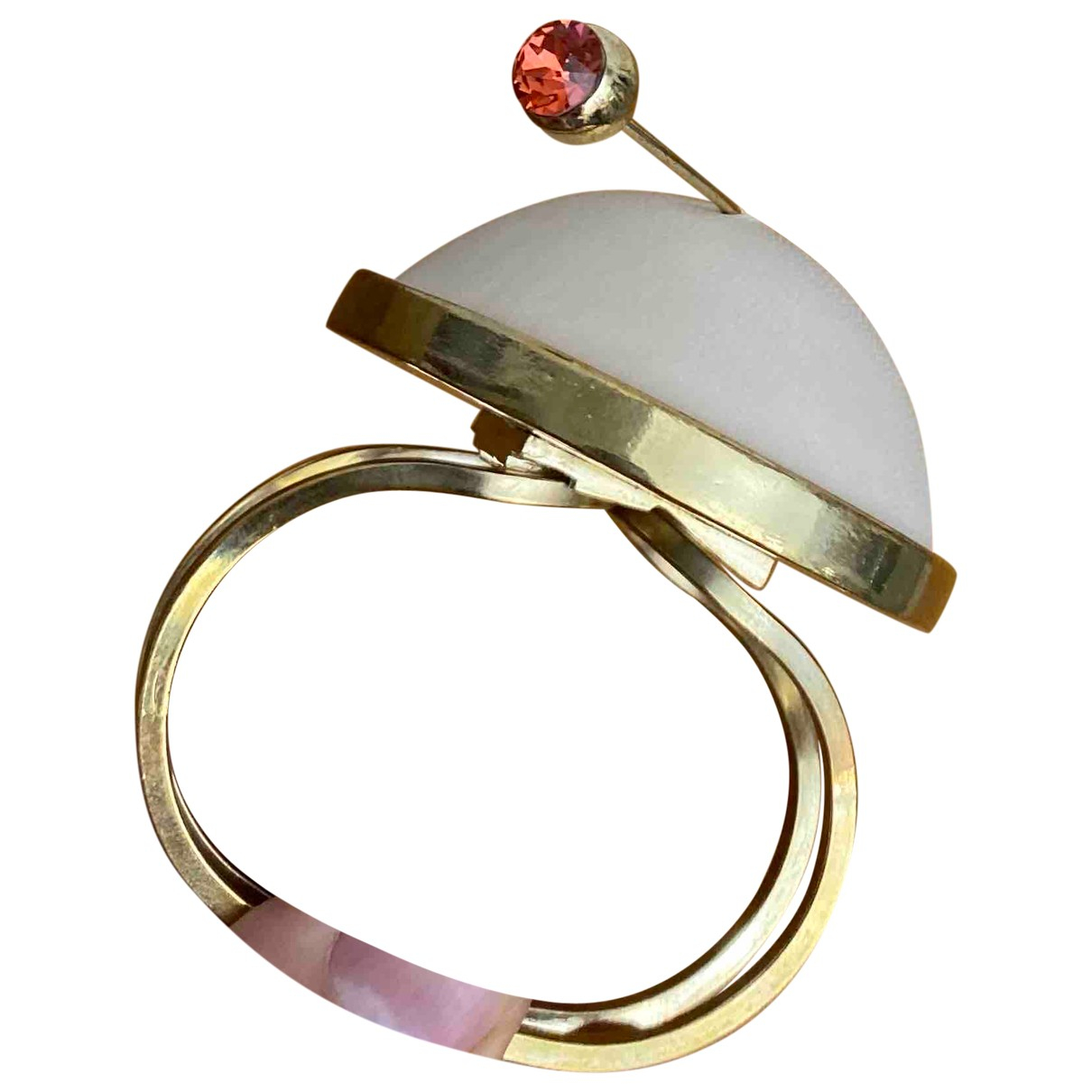 Jean Paul Gaultier - Bracelet   pour femme en metal - beige