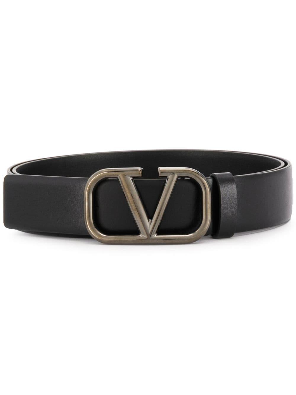 Logo Leather Belts