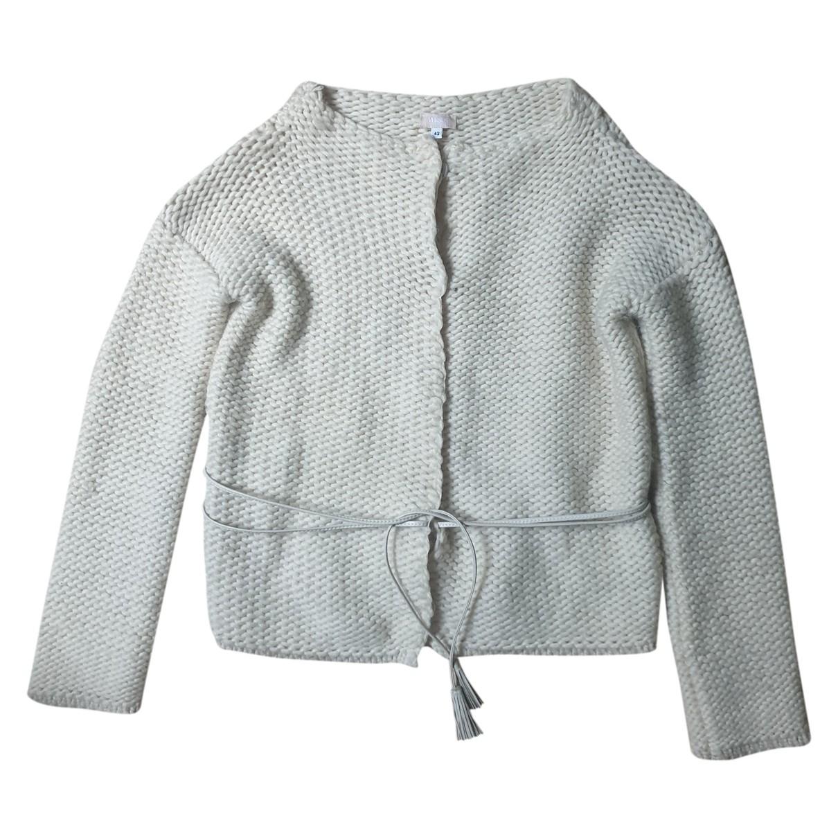 Versus \N Pullover in  Ecru Wolle