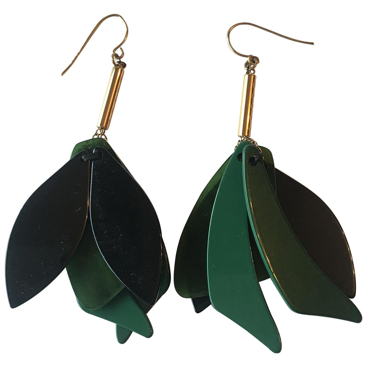 Marni - Boucles doreilles   pour femme - vert