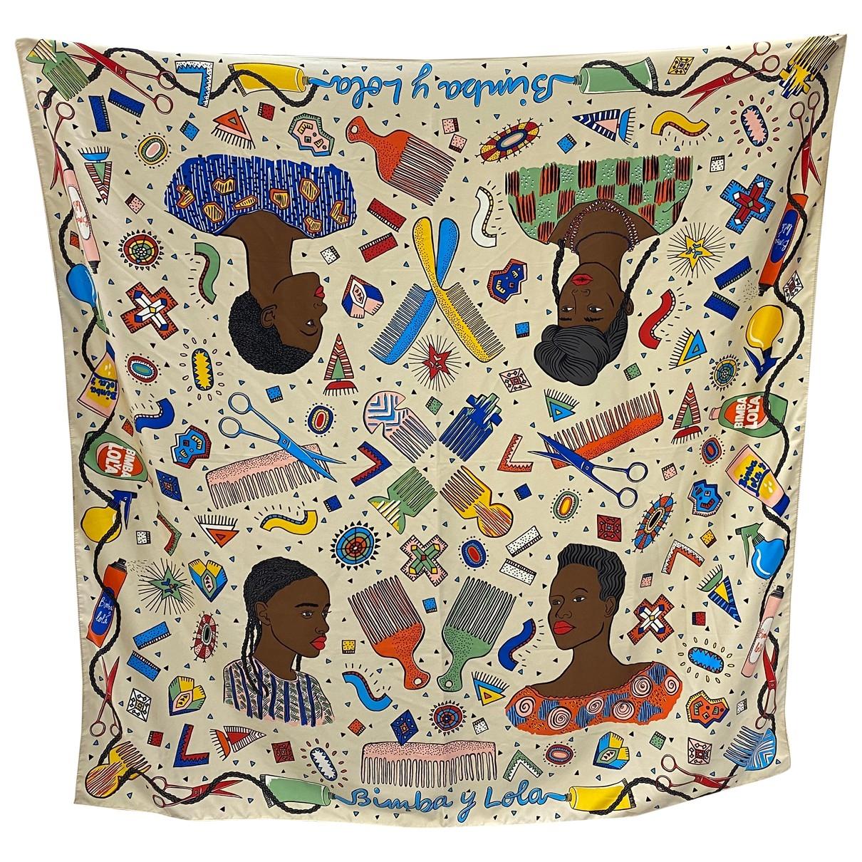 Bimba Y Lola \N Multicolour scarf for Women \N