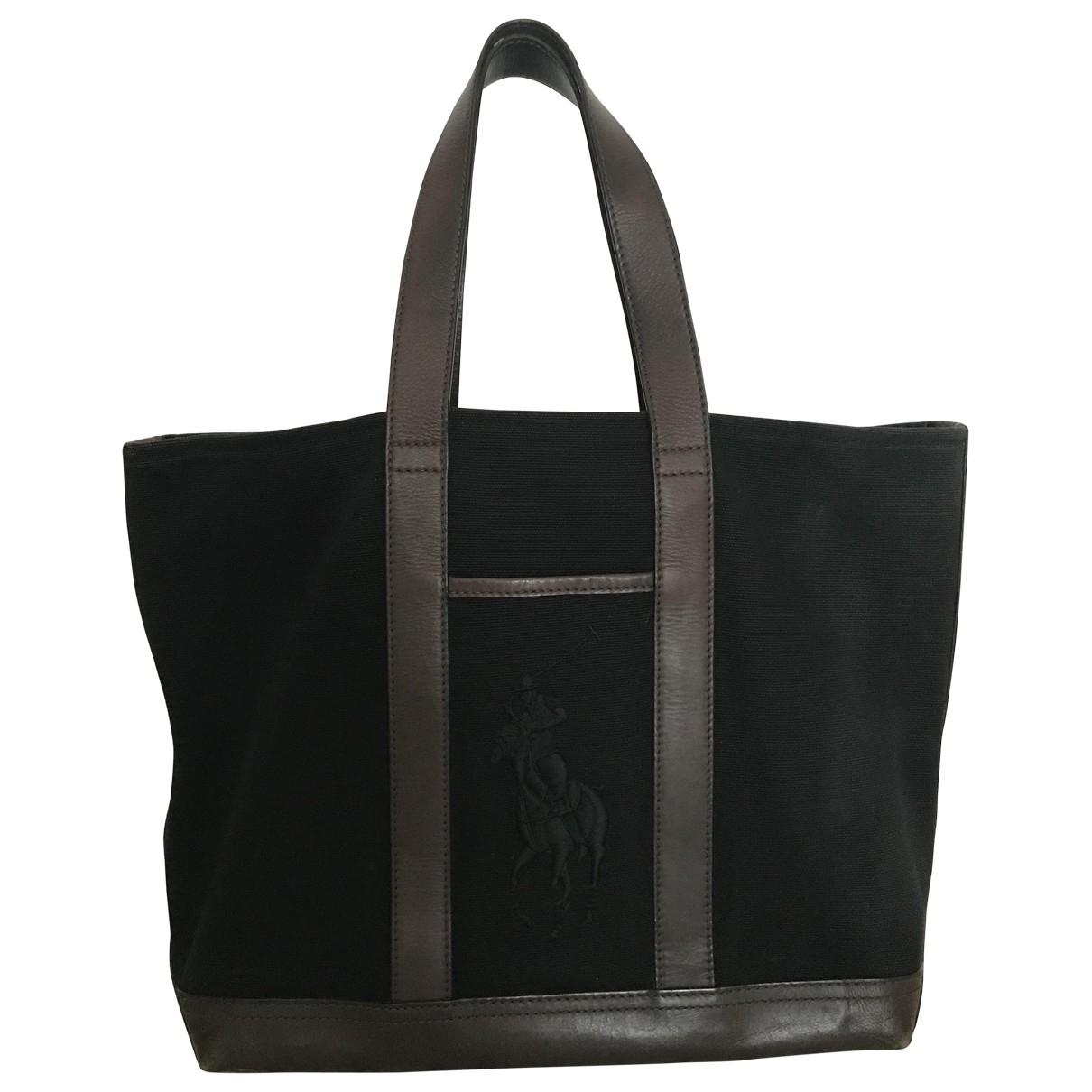 Ralph Lauren \N Black Cotton handbag for Women \N
