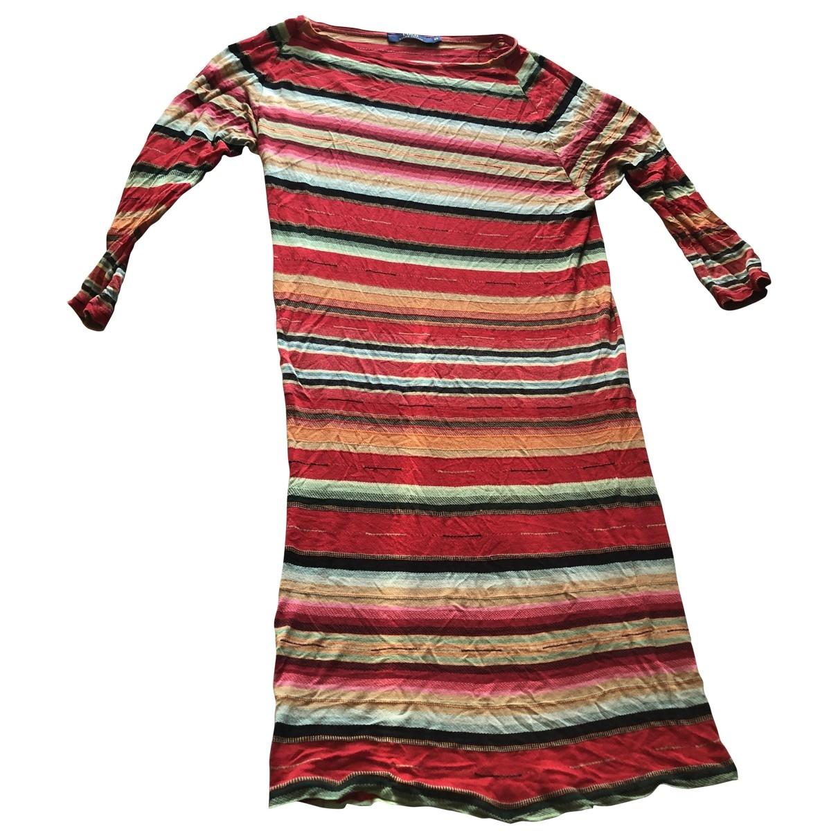 Polo Ralph Lauren \N Red Cotton dress for Women XS International