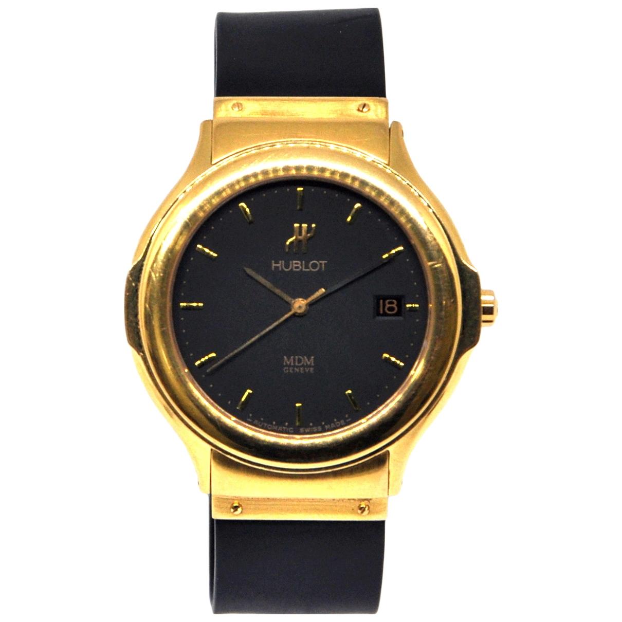 Hublot MDM Uhr in Gelbgold