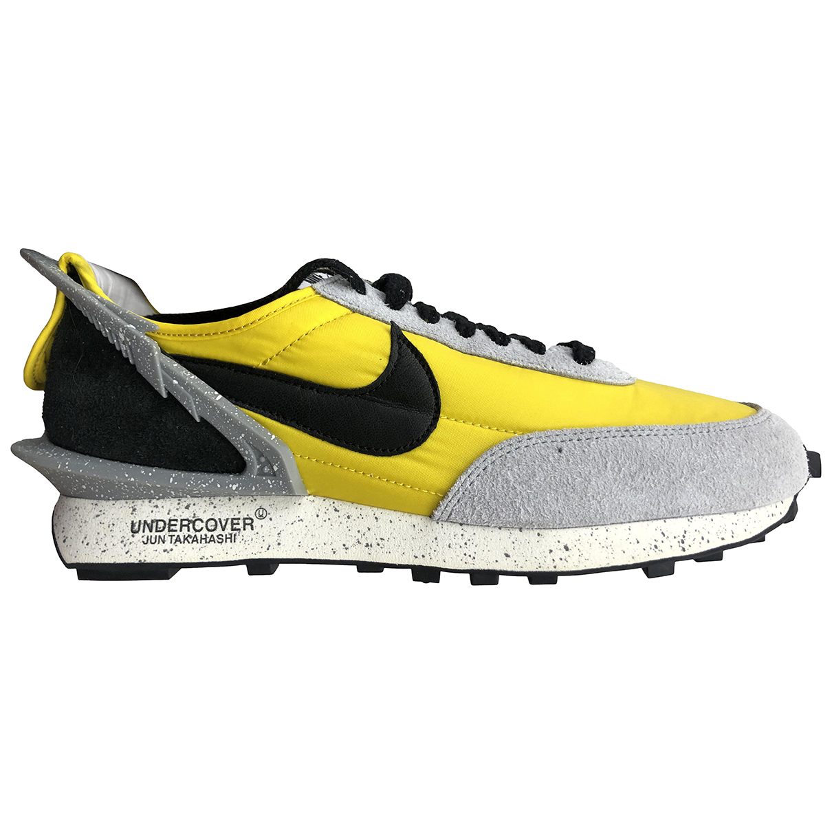 Nike X Undercover Daybreak Yellow Cloth Trainers for Men 45.5 EU