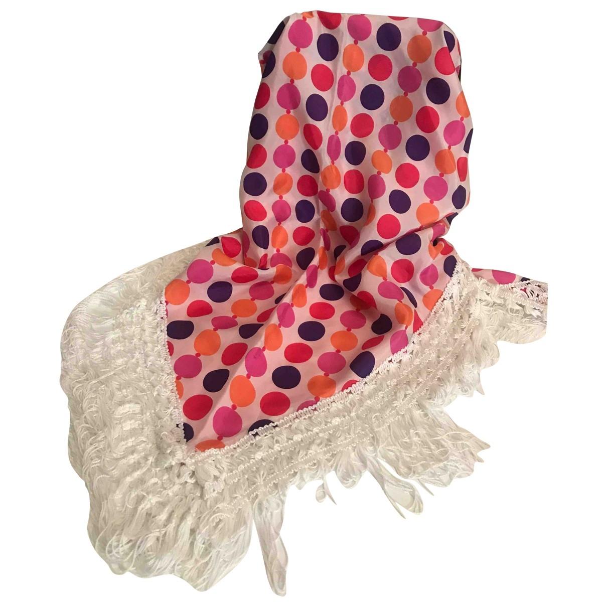 Emamo - Foulard   pour femme en soie - multicolore