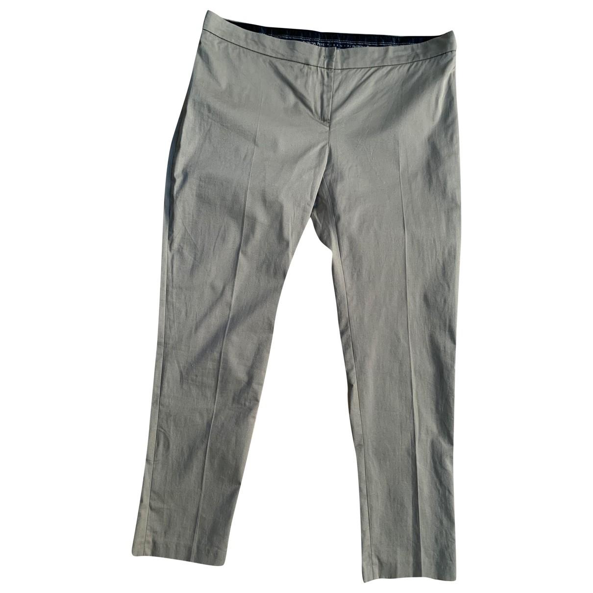 Patrizia Pepe N Green Cotton Trousers for Women L International