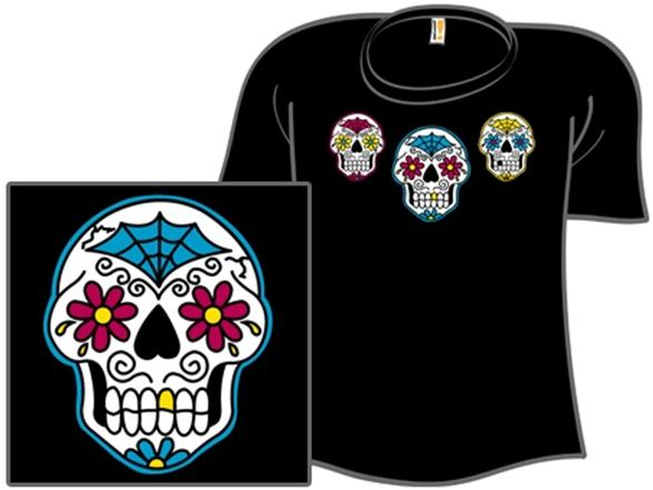 Cmyk Of The Dead T Shirt