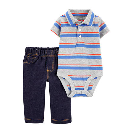 Carter's Baby Boys 2-pc. Pant Set, 24 Months , Gray