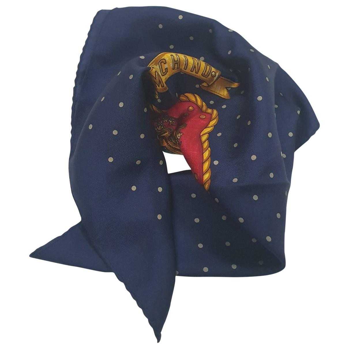 Moschino - Carre   pour femme en soie - multicolore
