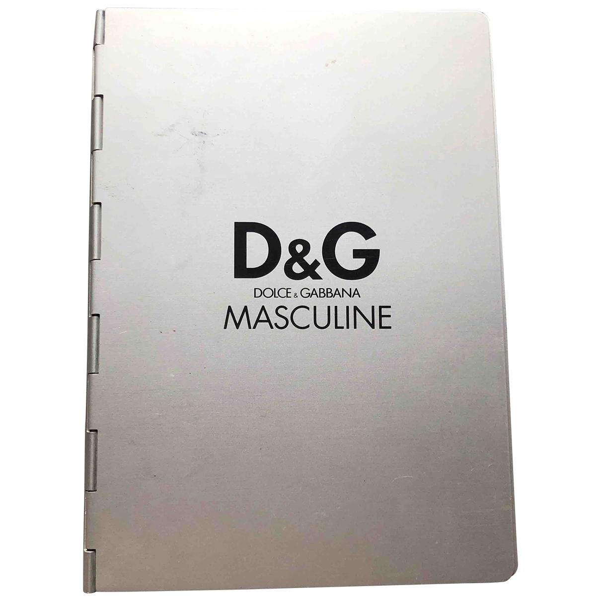 Dolce & Gabbana - Objets & Deco   pour lifestyle en metal - argente