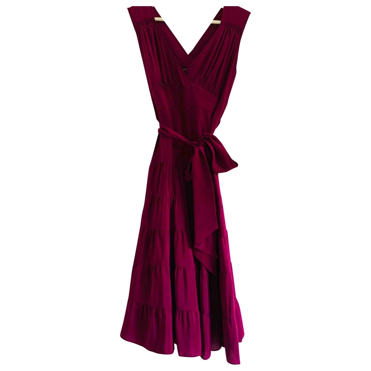 Balenciaga \N Kleid in  Rosa Seide