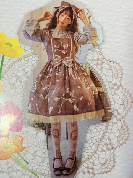 Milanoo Gothic Lolita JSK Dress Infanta Sleeveless Lolita Jumper Skirts