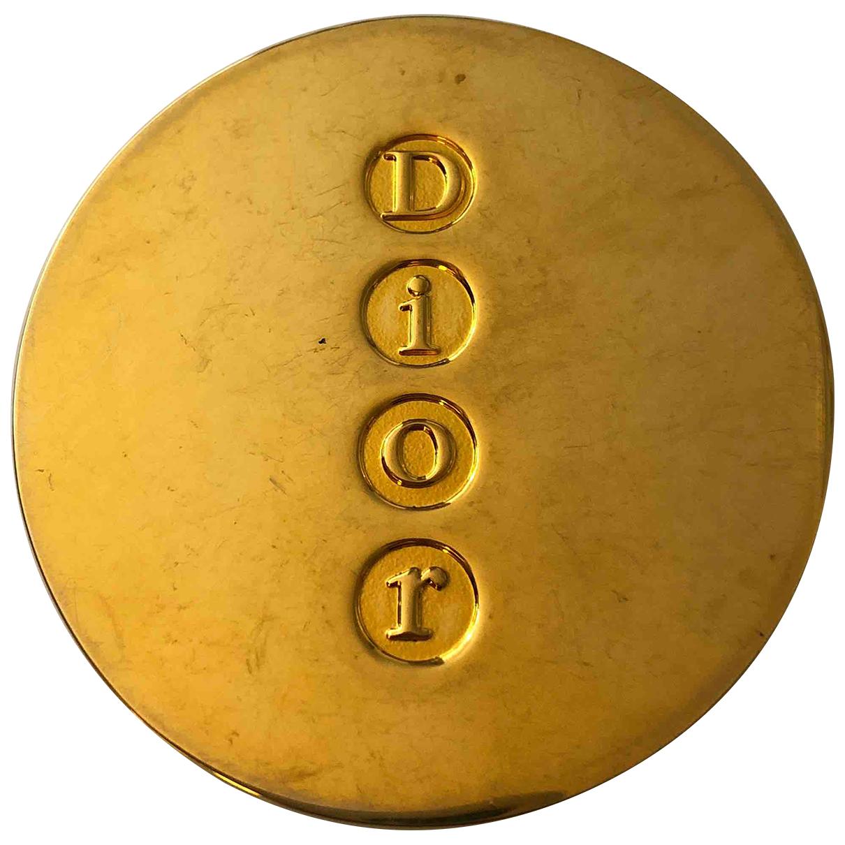 Dior \N Gold Metal Design for Life & Living \N