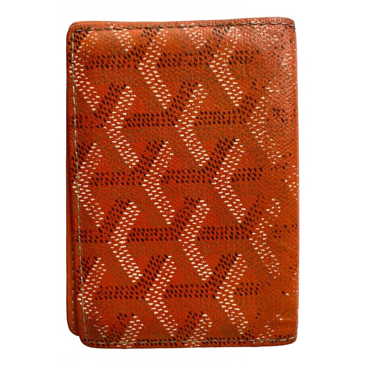 Goyard Malesherbes Orange Cloth Purses, wallet & cases for Women \N
