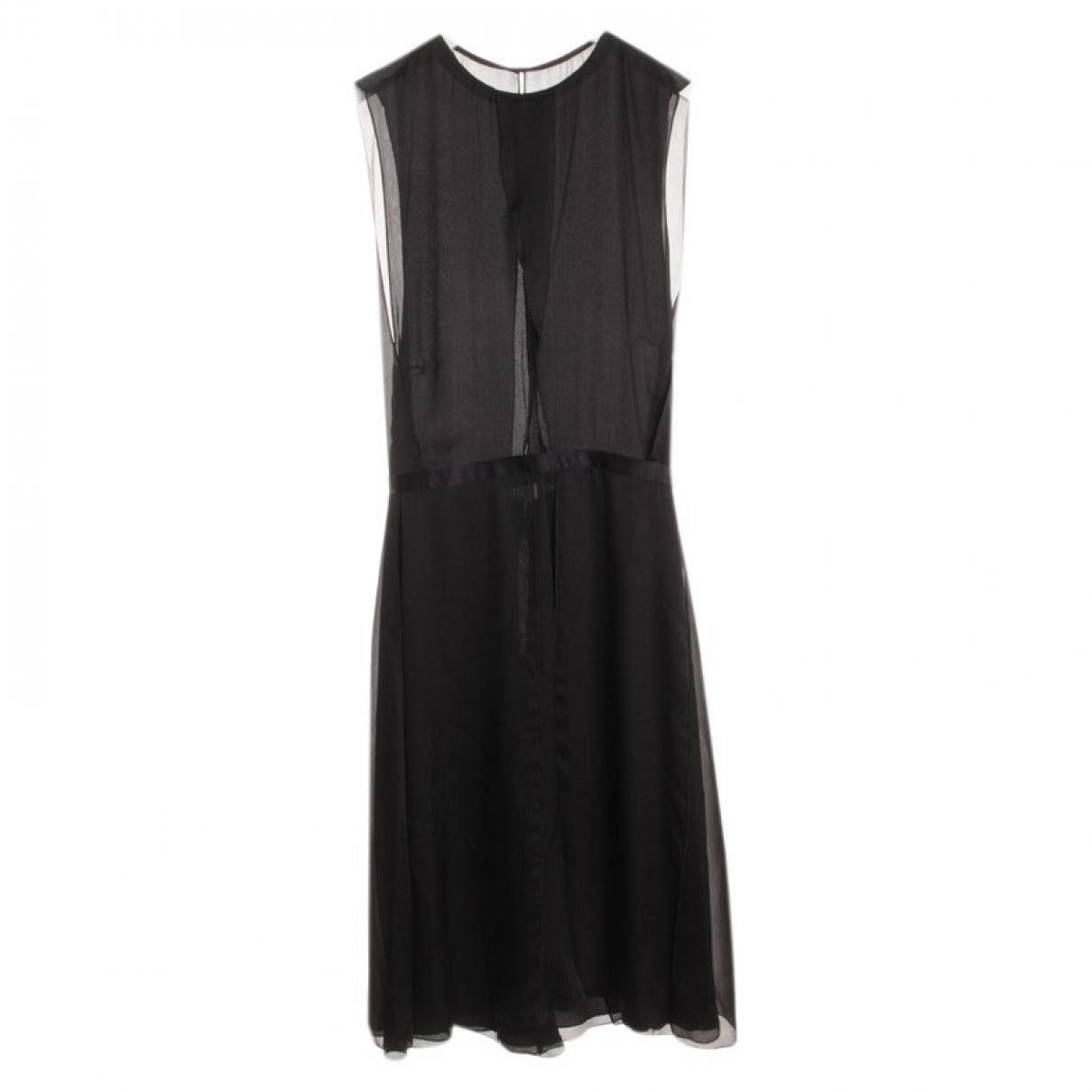 Dsquared2 \N Black Silk dress for Women 36 FR