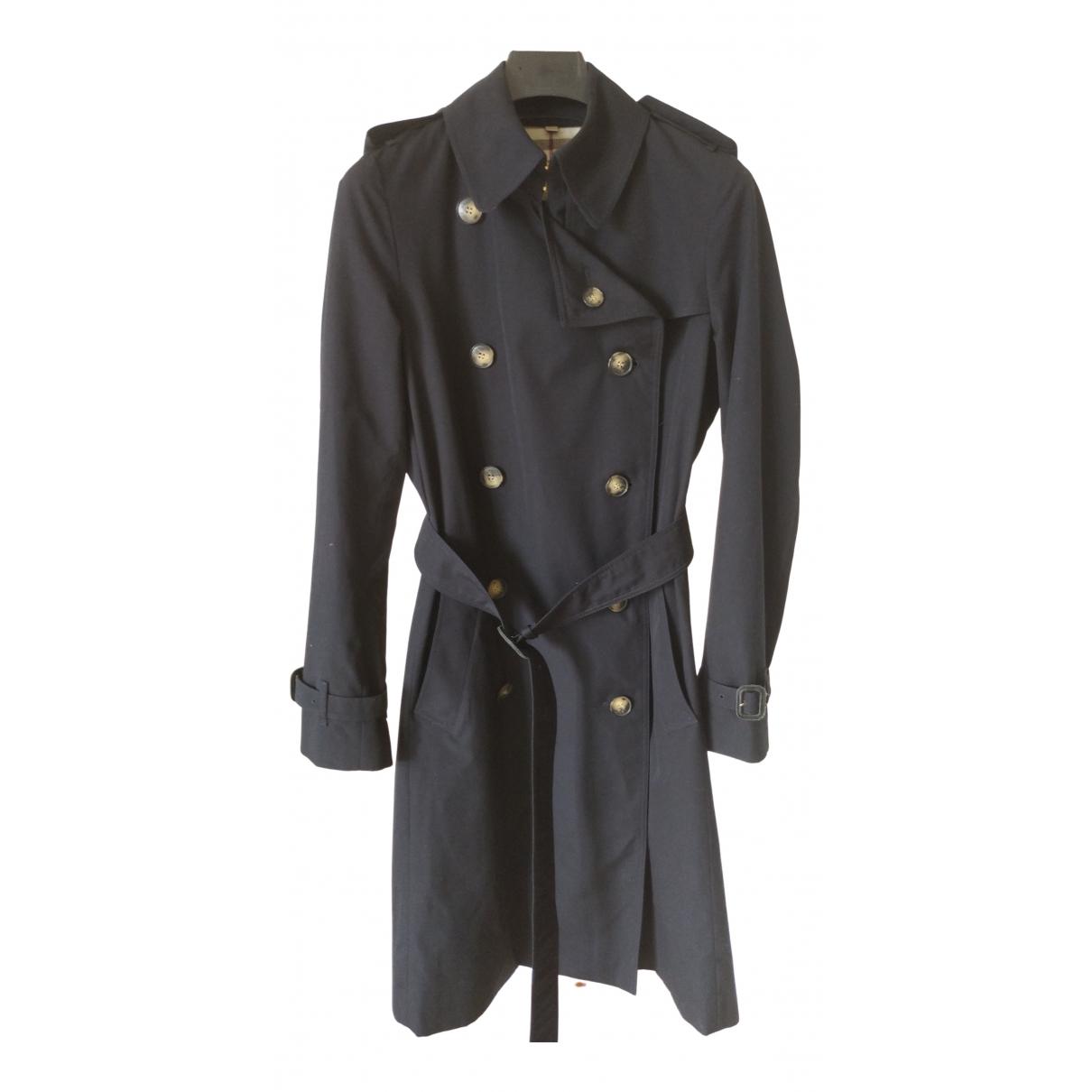 Burberry \N Blue Trench coat for Women 6 UK