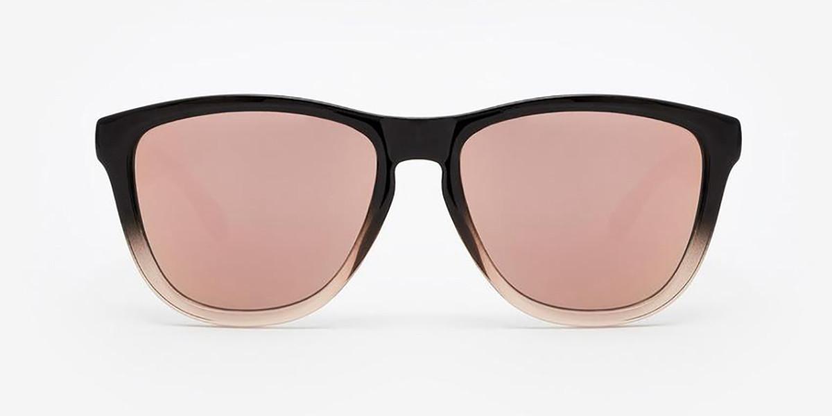 Hawkers Fusion Rose Gold One F18TR10 Men's Sunglasses Black Size 54