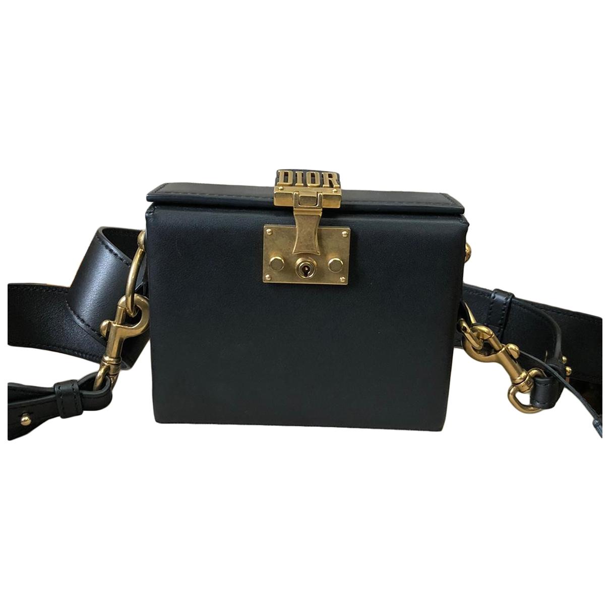Dior - Sac a main DiorAddict pour femme en cuir - noir