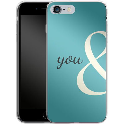 Apple iPhone 6s Plus Silikon Handyhuelle - You And von caseable Designs