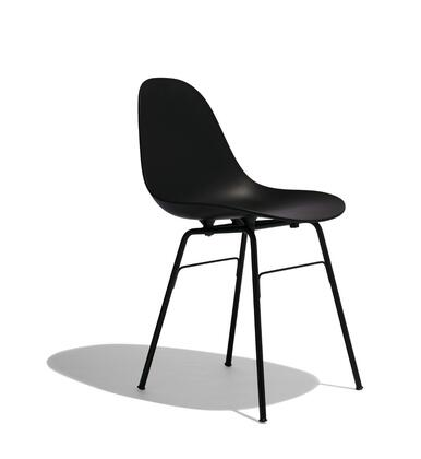 TA Collection TO-1533B-1501BB Armchair/Yi Base Black Stained Oak/Black