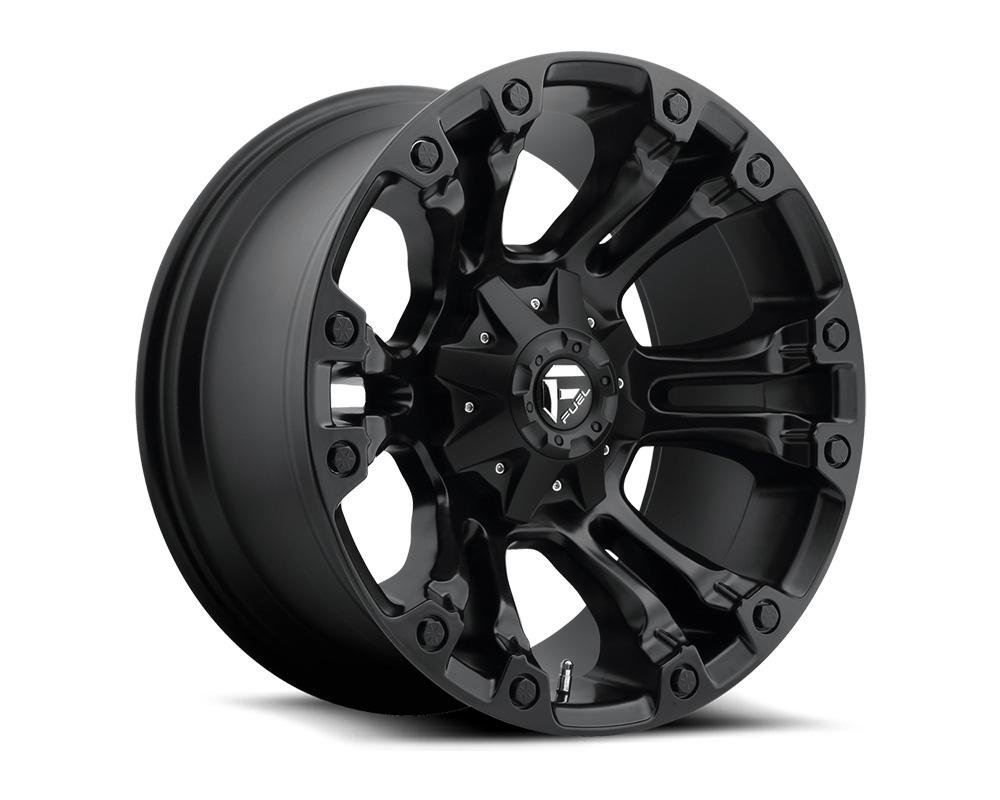 Fuel D560 Vapor Matte Black 1-Piece Cast Wheel 17x10 5x114.3|5x127 -18mm