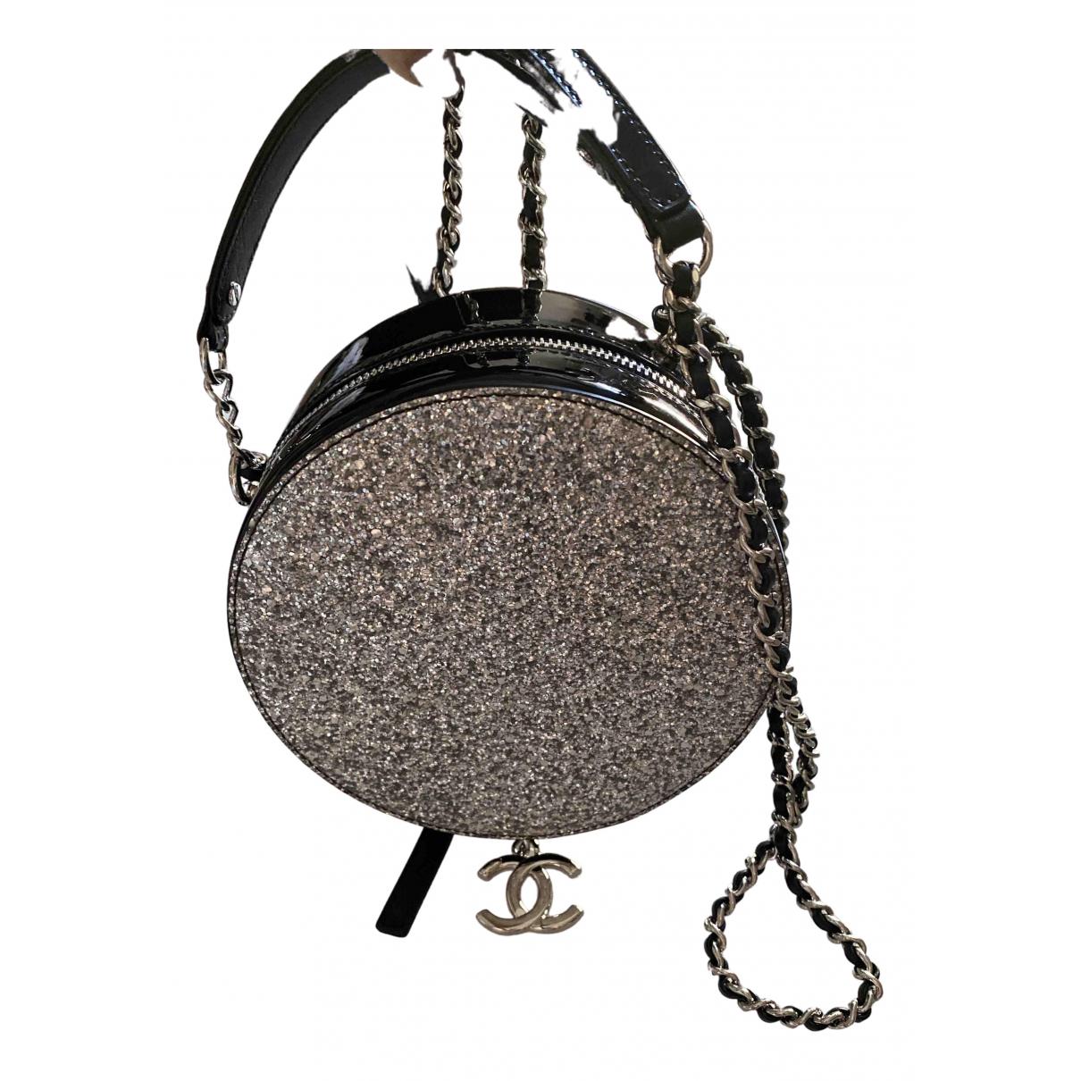 Chanel \N Silver Glitter handbag for Women \N
