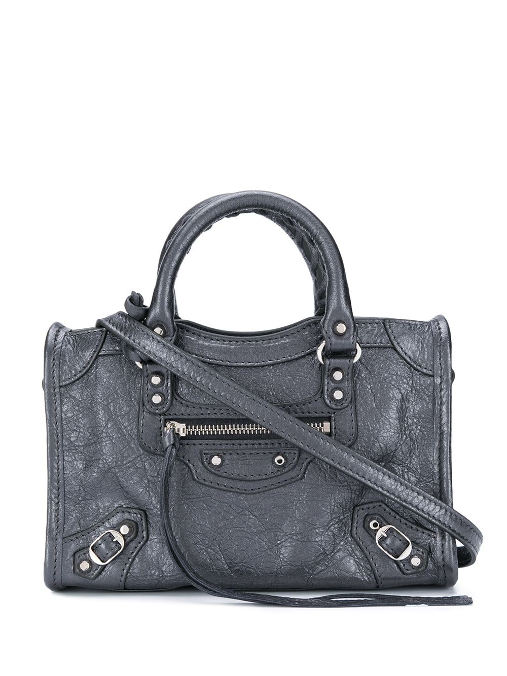 City Nano Leather Handbag