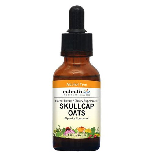 Skullcap - Oats 1 Oz by Eclectic Institute Inc