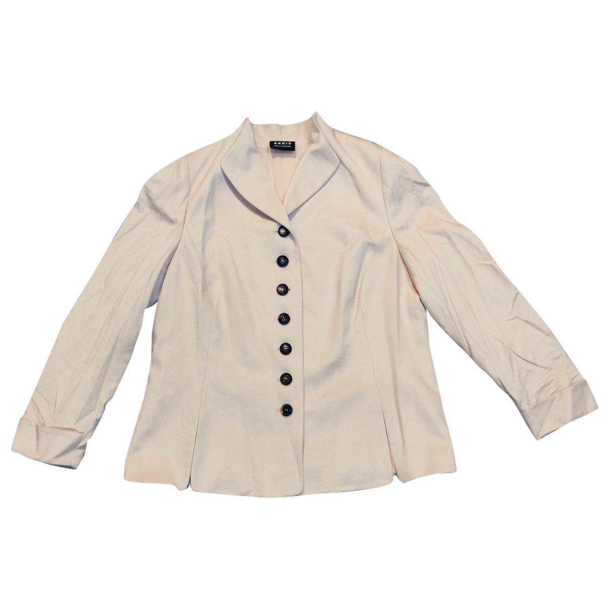 Akris - Veste   pour femme en cachemire - beige
