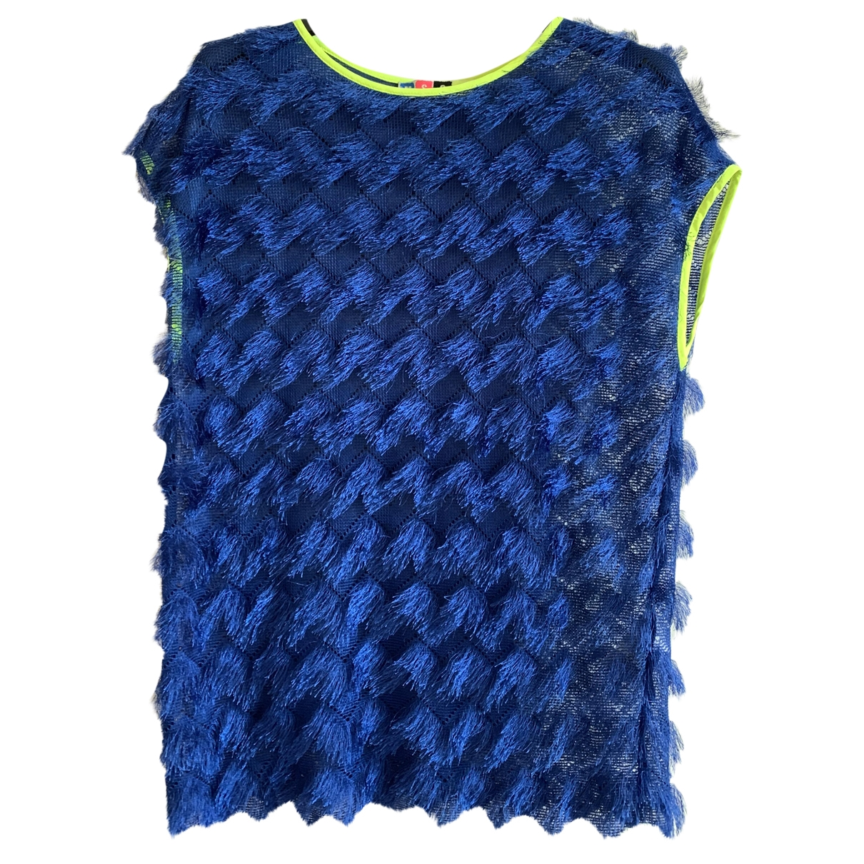 Msgm \N Blue  top for Women 42 IT