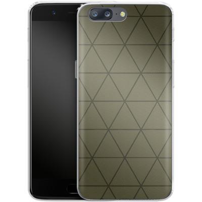 OnePlus 5 Silikon Handyhuelle - Moss von caseable Designs