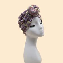 Hut mit Blumen Muster